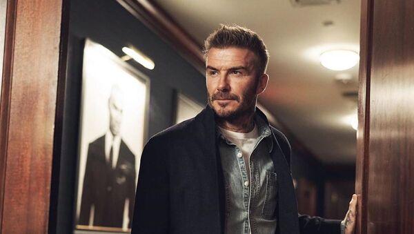 David Beckham, exfutbolista británico - Sputnik Mundo