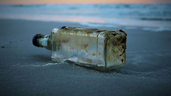 Una botella vacía (imagen referencial) - Sputnik Mundo