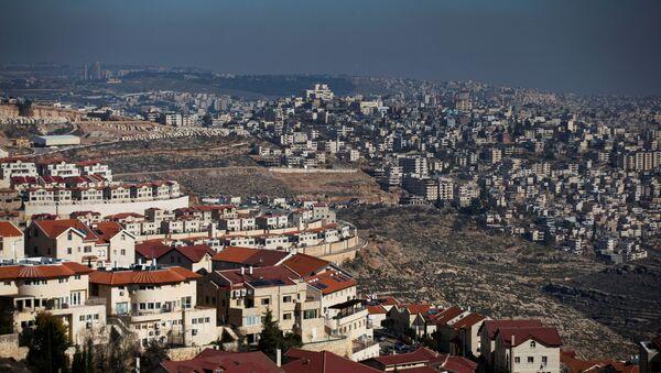 Los asentamientos israelíes en Cisjordania - Sputnik Mundo