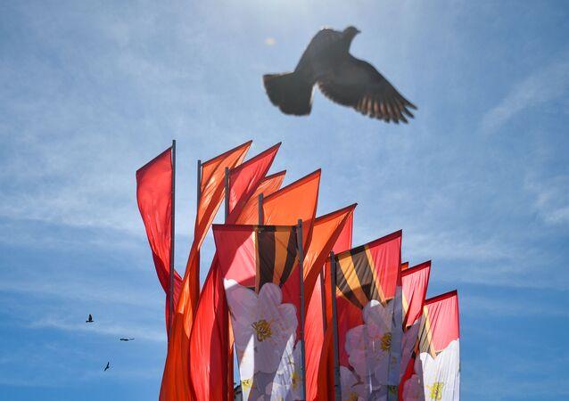 Preparaciones para la celebración del Día de la Victoria en la Gran Guerra Patria en Rusia