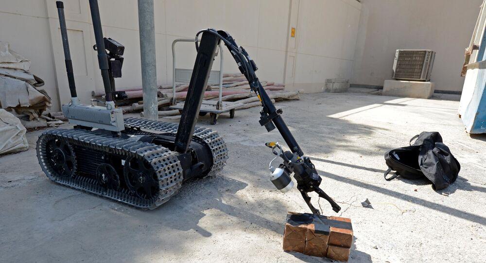 Robot EOD (Imagen referencial)