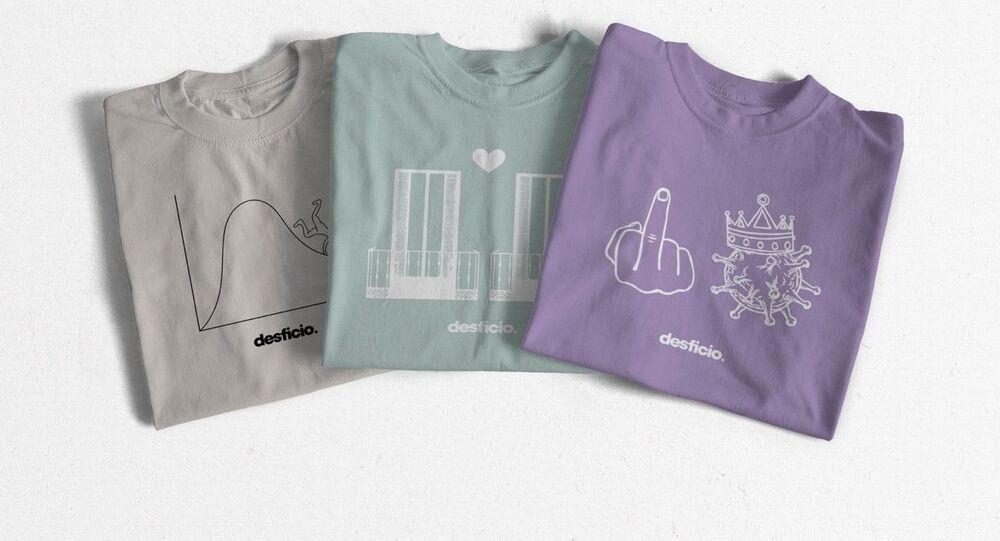 Camisetas solidarias contra el coronavirus de Desficio