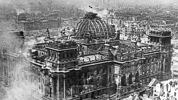 El Reichstag, Berlín (1945) - Sputnik Mundo