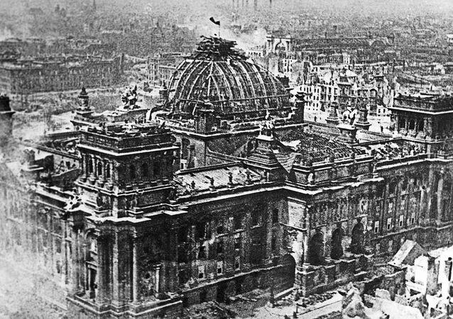 El Reichstag, Berlín (1945)