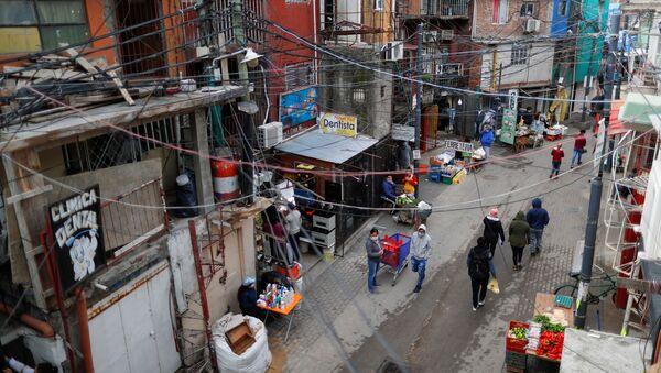 Un barrio de Buenos Aires - Sputnik Mundo