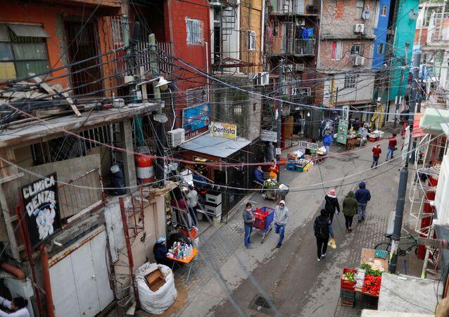 Un barrio de Buenos Aires