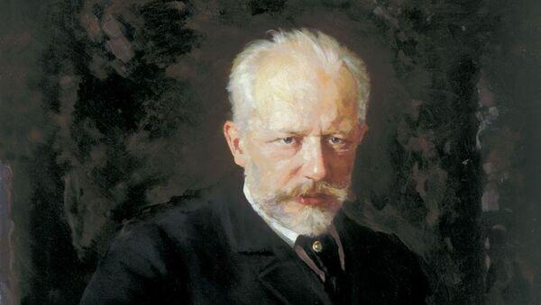 El retrato de Piotr Ilich Chaikovski - Sputnik Mundo