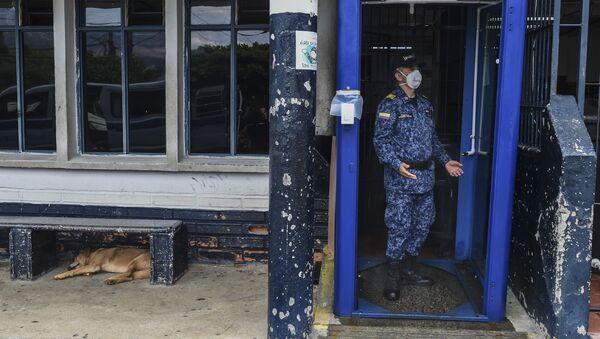 Cárcel Bellavista en Medellín durante la pandemia de COVID-19 - Sputnik Mundo