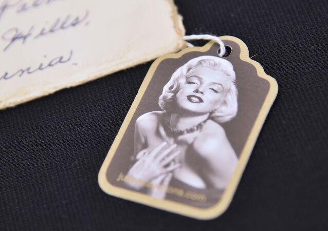 La actriz estadounidense Marilyn Monroe