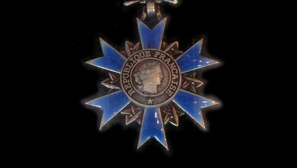 Orden Nacional del Mérito (Francia) - Sputnik Mundo