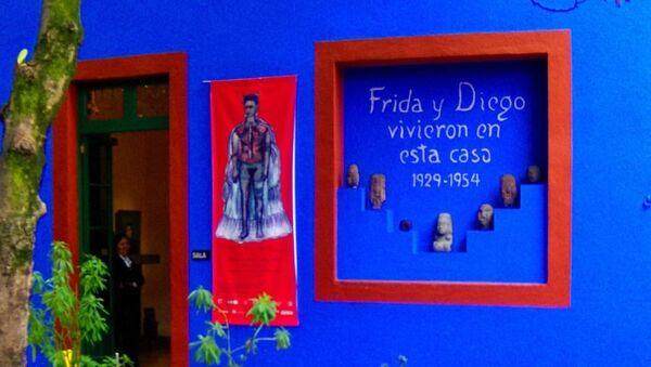 La Casa Azul, el Museo de Frida Kahlo y Diego Rivera en México - Sputnik Mundo