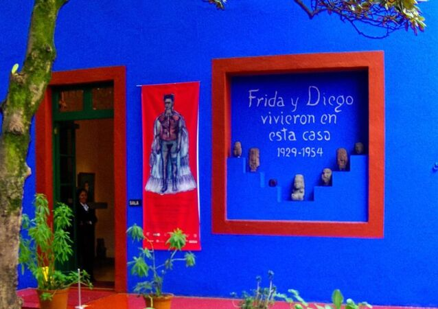 La Casa Azul, el Museo de Frida Kahlo y Diego Rivera en México