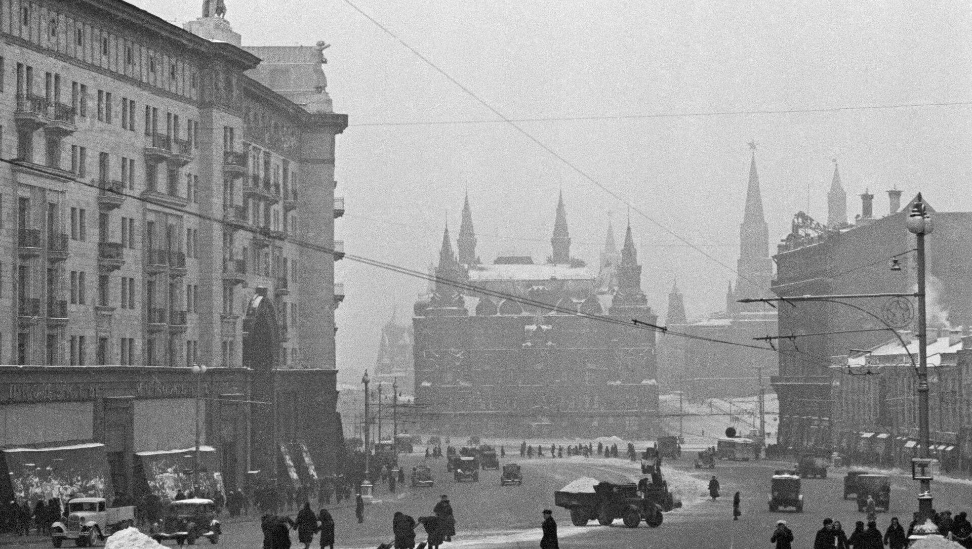 El Museo Estatal de Historia en Moscú durante la Gran Guerra Patria - Sputnik Mundo, 1920, 20.11.2020