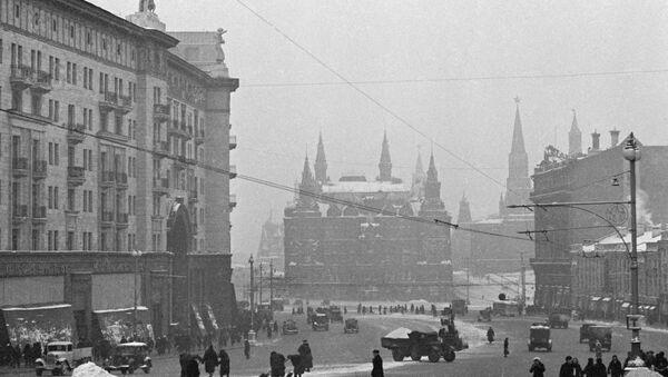 El Museo Estatal de Historia en Moscú durante la Gran Guerra Patria - Sputnik Mundo