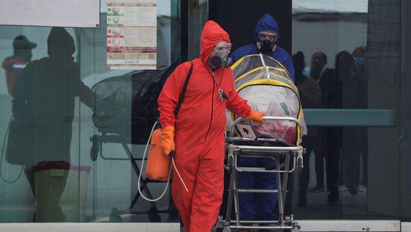 Ciudad de México durante la pandemia de COVID-19 - Sputnik Mundo