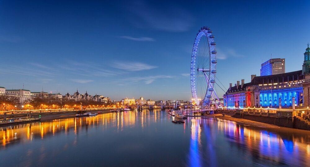 El London Eye de Reino Unido