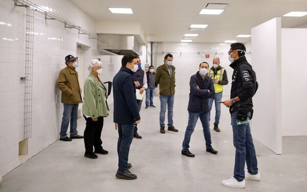 Transformación del autódromo de Fórmula 1 en Ciudad de México en un hospital para atender a los pacientes con COVID-19 - Sputnik Mundo