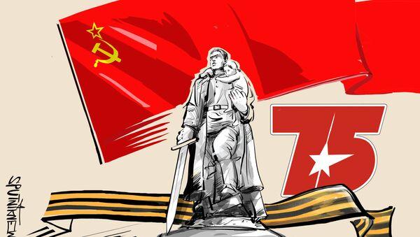 El soldado soviético, defensor y libertador - Sputnik Mundo