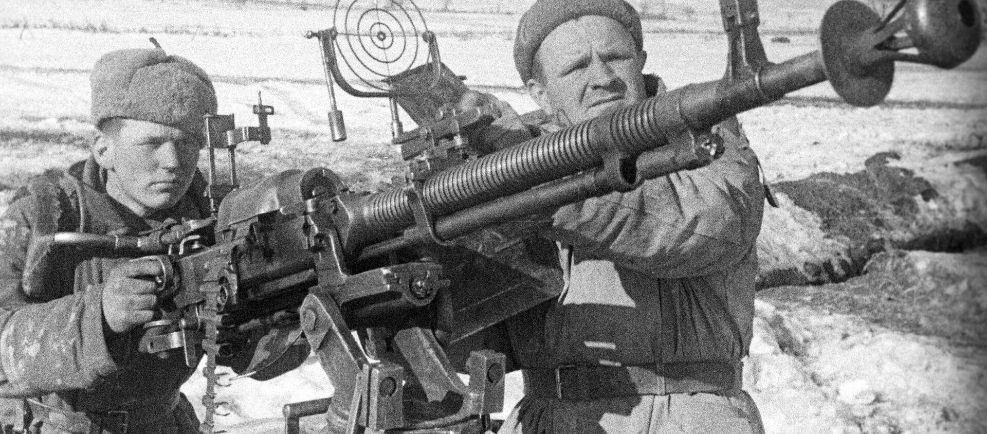 Los efectivos de la defensa antiaérea soviética durante la Segunda Guerra Mundial - Sputnik Mundo, 1920, 08.05.2020
