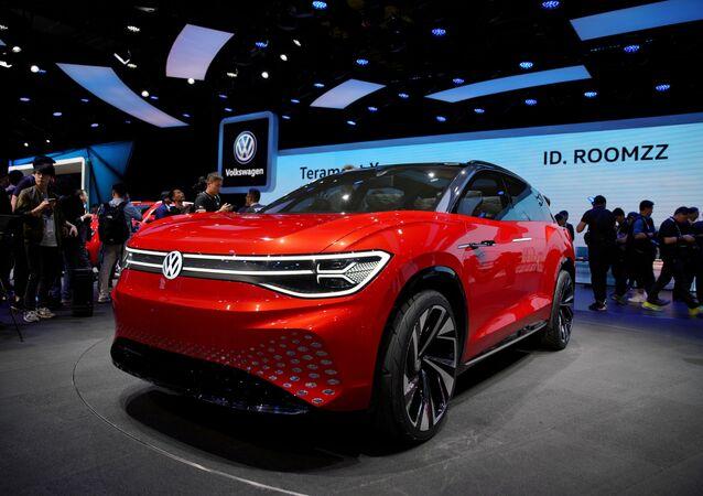 SUV ID. ROOMZZ, el automóvil eléctrico de VW