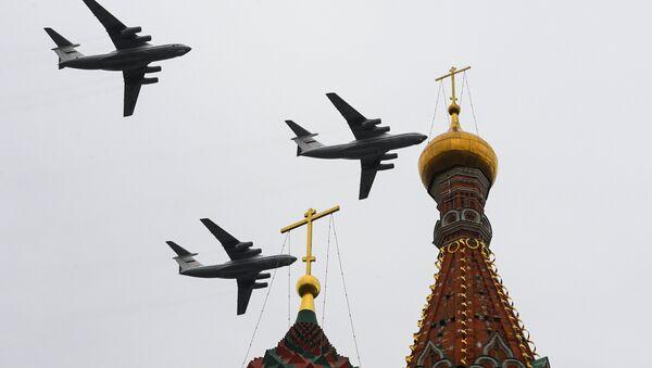 Desfile aéreo en Moscú por el 75 aniversario de la victoria sobre la Alemania nazi - Sputnik Mundo