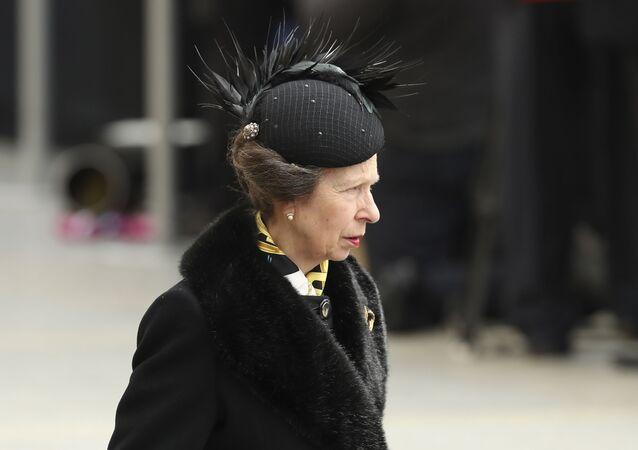 La princesa Ana del Reino Unido