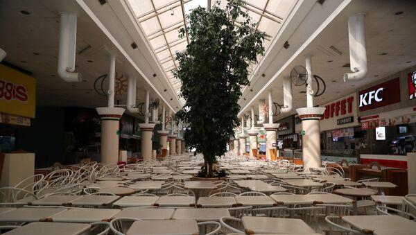 Centro comercial Apumanque en Santiago de Chile - Sputnik Mundo
