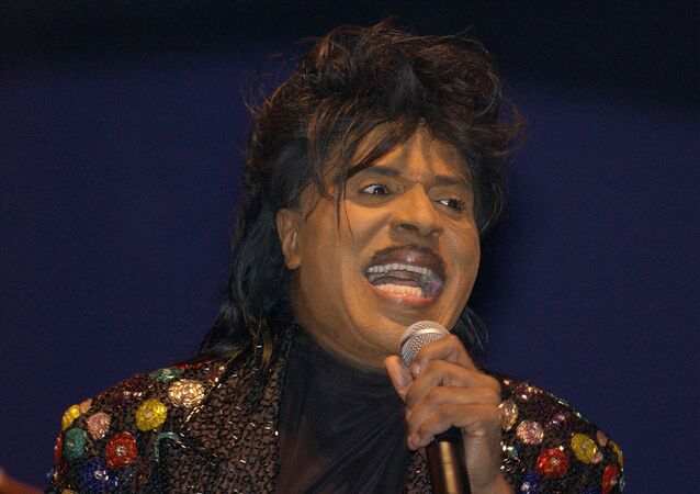 Little Richard, uno de los fundadores del rock and roll (archivo)