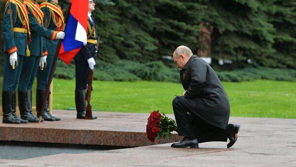 Putin conmemora el 75 aniversario de la Gran Victoria en Moscú - Sputnik Mundo