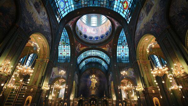 La Iglesia Principal de las Fuerzas Armadas de Rusia - Sputnik Mundo