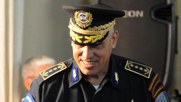 Juan Carlos el 'Tigre' Bonilla, exjefe de la Policía Nacional de Honduras - Sputnik Mundo