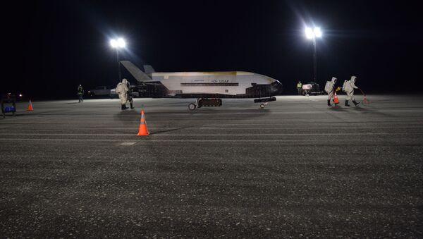 X-37B, avión espacial no tripulado de EEUU - Sputnik Mundo