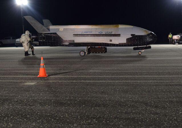 X-37B, avión espacial no tripulado de EEUU