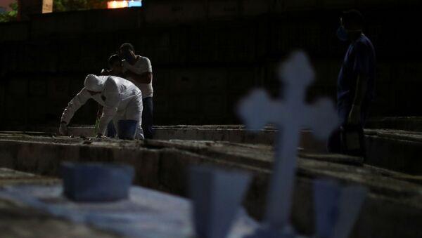 Cementerio en Río de Janeiro, Brasil - Sputnik Mundo