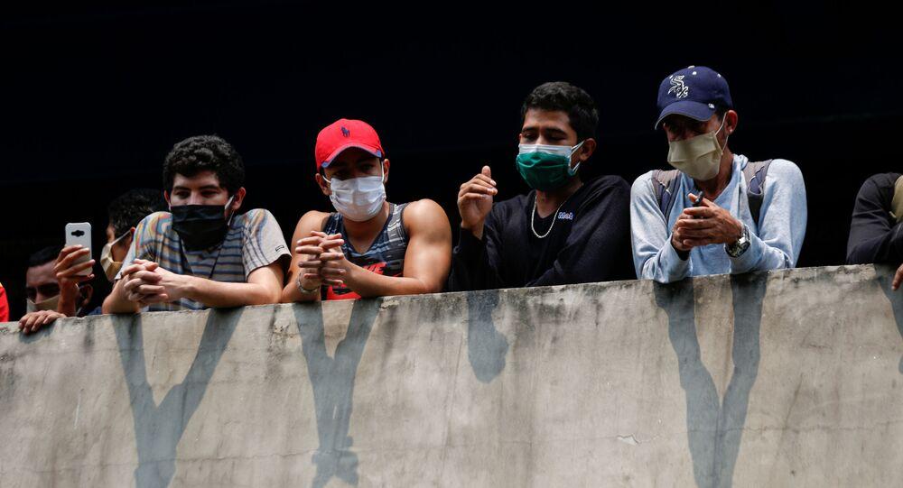 Situación en San Salvador, El Salvador