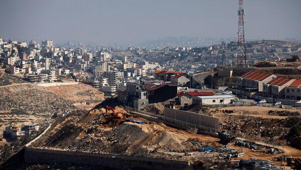 Construcción de asentamientos israelíes en Cisjordania - Sputnik Mundo