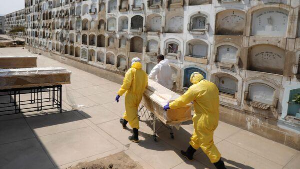 Un cementerio en Lima, Perú - Sputnik Mundo