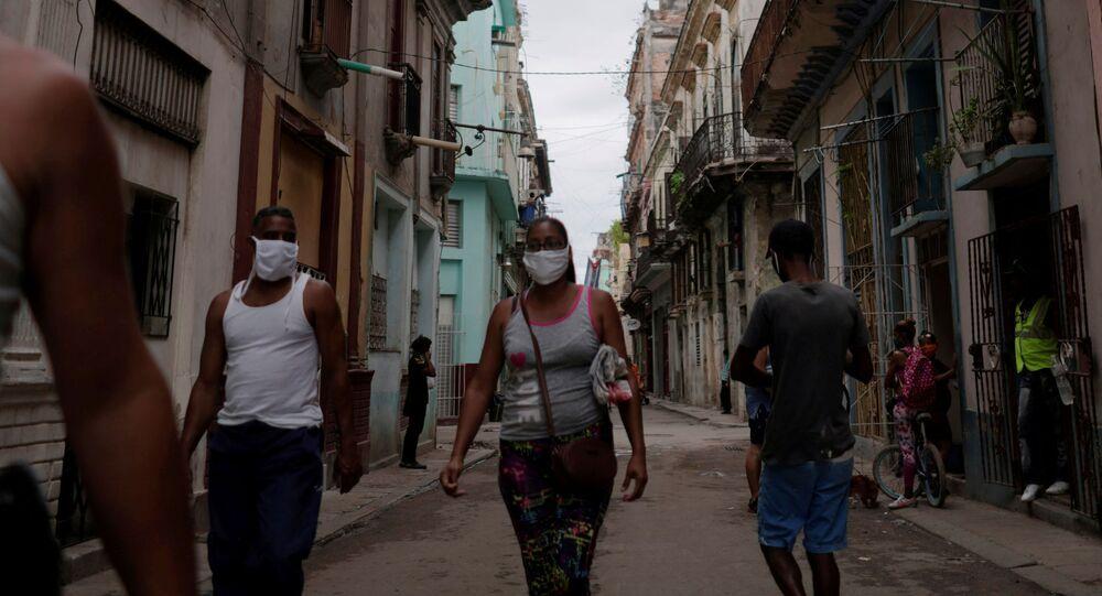 Situación en La Habana, Cuba