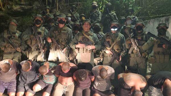 Mercenarios capturados en La Guaira, Venezuela - Sputnik Mundo
