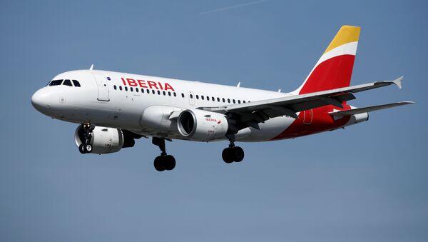 Un avión de Iberia  - Sputnik Mundo