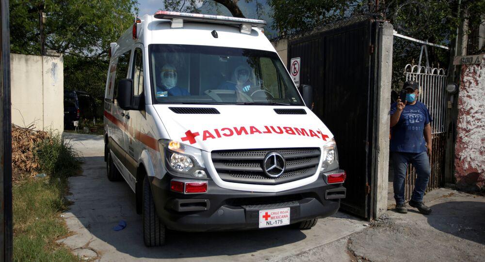 Una ambulancia mexicana