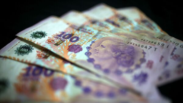 Billetes de 100 pesos argentinos - Sputnik Mundo
