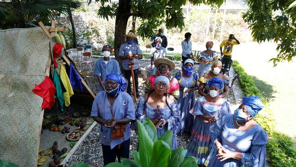 Coronavirus en Haití (imagen referencial) - Sputnik Mundo