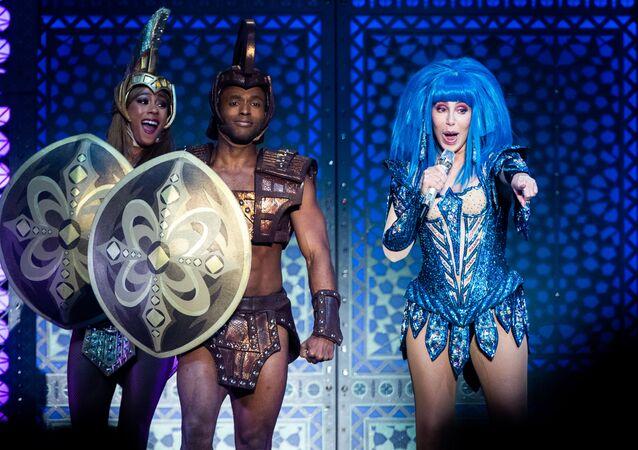 Cher en un concierto en Viena