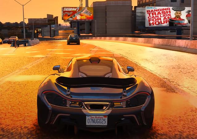 GTA IV, captura de pantalla