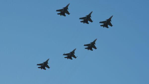 Aviones de caza Su-30 - Sputnik Mundo