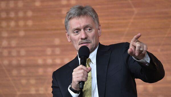 Dmitri Peskov, portavoz de la Presidencia rusa - Sputnik Mundo