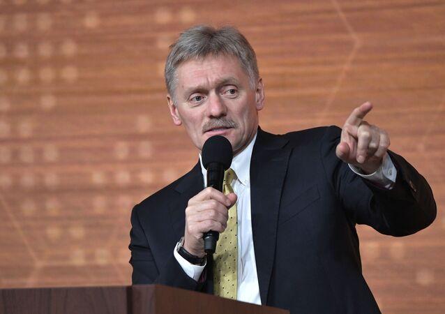 Dmitri Peskov, portavoz de la Presidencia rusa