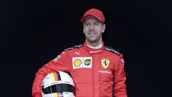 Sebastian Vettel, piloto alemán - Sputnik Mundo