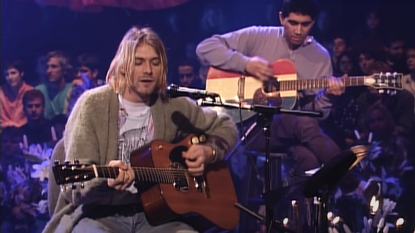 Kurt Cobain en MTV Unplugged in New York - Sputnik Mundo